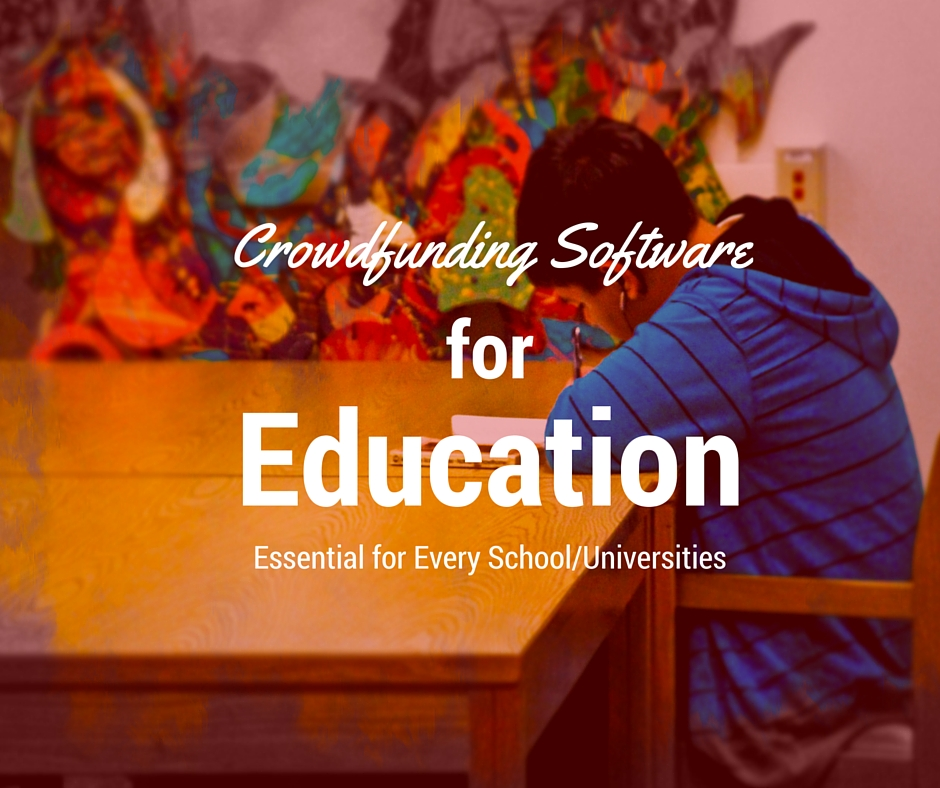 Education Crowdfunding Software